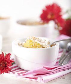 Le ricette passo passo delle torte light, sane e leggere:  soufflé di banane