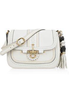 Net-A-Porter - GUCCI/Embellished leather shoulder bag