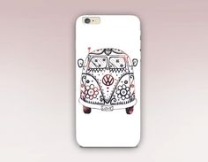 VW Hippie Bus Phone Case For iPhone 6 Case iPhone 5 by CRCases
