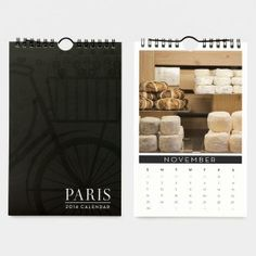 Paris Print Shop - 2014 Paris Calendar by Nichole Robertson