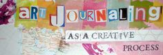 art journaling as a creative process :: This blog is from my classmate & colleague, Kelley. She documents her personal art journaling and provides tutorials for techniques and prompts.