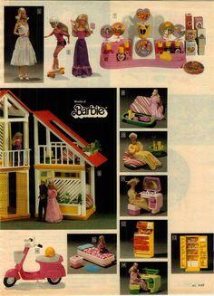 1979 Advertisement 6 PG Doll Barbie Ken motorhome Perfume Tent Pool Nighttime | eBay