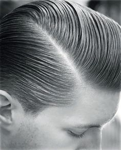 Classic Side Part