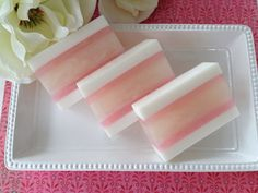 Magnolia Soap  handcrafted glycerin soap by SeasideSoapKitchen, $5.50