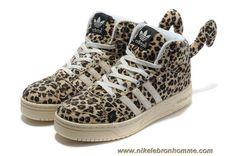 Adidas X Jeremy Scott Leopard Chaussures Sortie