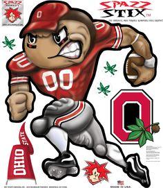 "The Ohio State Spazz Brutus Spazz Stix 48"" - Spazz Monkey"