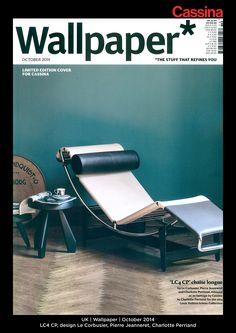 UK | Wallpaper | October 2014 | LC4 CP, design Le Corbusier, Pierre Jeanneret, Charlotte Perriand | Discover more on: http://cassina.com/it/collezione/poltrone-e-divani/lc4-cp