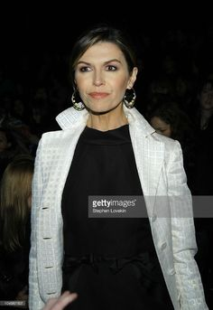 Finola Hughes during Olympus Fashion Week Fall 2004 - Proenza Schouler - Runway and Front Row at Mandarin Oriental Hotel in New York City, New York, United States.