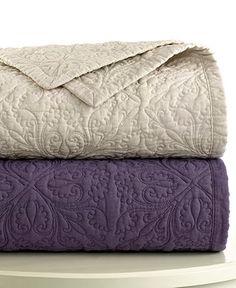 Plum quilted bedding? Lauren Ralph Lauren Bedding, Linen Quilts - Quilts & Bedspreads - Bed & Bath - Macy's