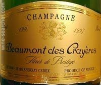 Beaumont des Crayeres Fleur de Prestige, Champagne, France label