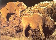 Bison from cave of LeTuc d'Auddoubert  modeled clay  Paleolithic 40,000-10,000 BCE    Google Image Result for http://www.donsmaps.com/clickphotos/claybison2.jpg