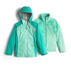 The North Face Girl's Osolita Triclimate Jacket: FEATURES of The… #NorthFaceJackets #PatagoniaJackets #ArcteryxJackets #MountainHardwear