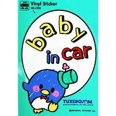Tuxedosam Baby in Car Sticker