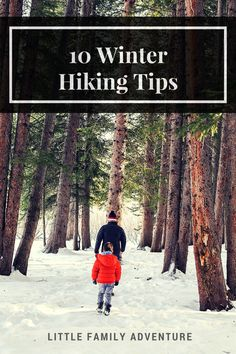 10 Winter Hiking Tips - Get outdoors with your family or other adults for a winter time hike. Winter Hiking, Winter Camping, Hiking Tips, Camping And Hiking, Family Camping, Winter Travel, Camping Tips, Family Travel, Backpacking Tips