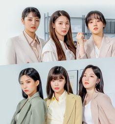 Kpop Girl Groups, Korean Girl Groups, Kpop Girls, Soo Jin, Rowan Blanchard, Cube Entertainment, Soyeon, Sabrina Carpenter, Lana Del Rey