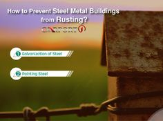 Steel metal buildings are incredibly strong and durable. Their only enemy is rust. Here is you can prevent your prefab metal building from premature rusting Prefab Metal Buildings, Metal Storage Buildings, Steel Buildings, Metal Carports, Metal Garages, Metal Building Kits, Steel Barns, Cleaning Materials, Metal Panels