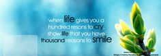 BEST QUOTES ON LIFE FOR FACEBOOK COVER PHOTO image quotes at ...