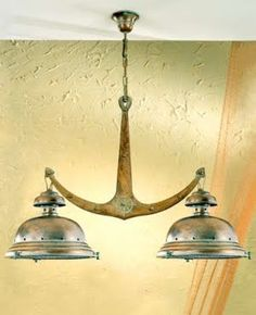 Anchor hanging lamp - #nautical
