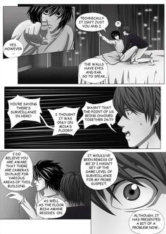 Death Note Doujinshi Page 89 by Shaami.deviantart.com on @DeviantArt