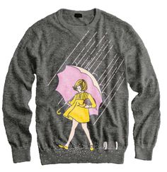 Morton Salt Girl Sweater... this has to be the coolest shirt ever!