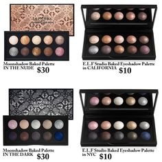 Sephora baked eyeshadow dupes! I love when I can find cheaper alternatives