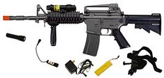NEW M3081A M16 A4 AEG Assault Rifle Airsoft Gun. SEE MORE ELECTRIC AIRSOFT GUN PRODUCT MAYBE SUIT FOR YOU AT http://www.pinterest.com/suliasedge/electric-airsoft-guns/