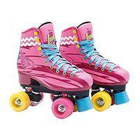 Soy Luna Patines / M' Moon Roller Skates / 34 - 35 Europe Children's Size Roller Skate Shoes, Quad Roller Skates, Roller Skating, Roller Derby, Toys R Us, Disney Channel, Barbie, Skate 4, Wakeboard