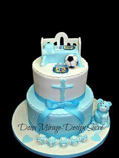 Gâteau de Baptême  Christening cake