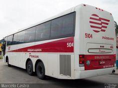 Ônibus da empresa Empresa de Ônibus Pássaro Marron, carro 5104, carroceria…