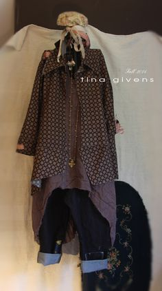 TINA GIVENS COUTURE - Angelika Shirt with Norma Jeans