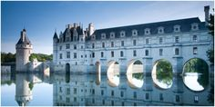 Château de Chenonceau : After Henry II died, his widow, Catherine de Medici, forced the king's mistress, Diane de Poitiers, to give her the castle ...
