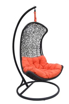 Clove   Urban Balance Curve Porch Swing Chair Model Y9091Bk