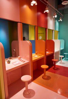 Home Decoration Shops Near Me Tiguan, Experiential, Booth Design, Retail Design, Interiores Design, Store Design, Event Design, Color Inspiration, Color Pop