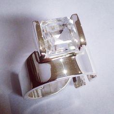 Locally made, Eastern Cape, South African products Sterling Silver B.... Brand new to our website! http://the-wild-coast-trading-company.myshopify.com/products/sterling-silver-bold-clear-quartz-ring?utm_campaign=social_autopilot&utm_source=pin&utm_medium=pin