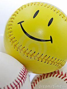Smiley Face Baseball