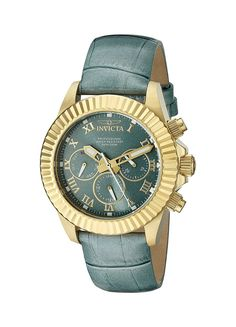 Invicta Women's 18484 Pro Diver Analog Display Swiss Quartz Blue Watch -- Check out the image by visiting the link.