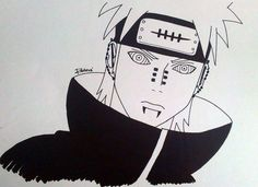 My drawing - Pain <3
