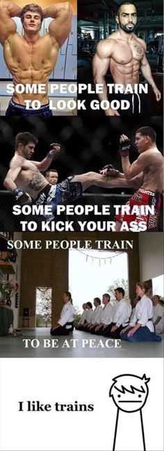 Yep.  This is pretty much me when it comes to training...