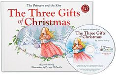 """This young, pampered princess (the grown-up princess from one of our favorite books, The Princess and the Kiss) is growing more selfish by the minute, so her parents devise a plan. Her reaction gives readers a heartwarming surprise & a gentle reminder that it is indeed """"better to give, than to receive."""" Splendid illustrations! Audio version on CD included. Ages 4+."""