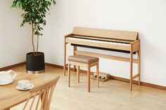 Buy a Digital piano in great price from us. Digital Piano is same as the accoustic piano. Portablity and other great features makes it more preferable as compare to the acoustic piano Piano Table, Piano Desk, Piano Bench, Keyboard Piano, The Piano, Best Piano, Design Furniture, Diy Furniture, Piano Digital