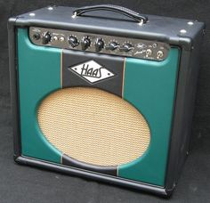 Angie #1 with Custom Front Panel - a single-ended tube amp with tube driven spring reverb