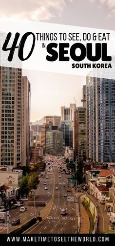 40 Things to see, do & eat in Seoul, South Korea Ways To Travel, Places To Travel, Places To See, Travel Vlog, Travel Tips, South Korea Travel, Asia Travel, Japan Travel, Seoul Travel Guide