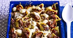 Sausage and lentil stuffed conchiglie