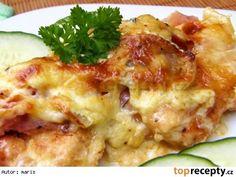 Zapečené kuřecí medailonky Top Recipes, Special Recipes, Poultry, Baked Potato, Cooking Tips, Risotto, Potato Salad, Cauliflower, Mashed Potatoes