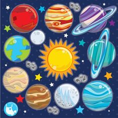 BUY 10 GET 10 OFF - Solar system clipart commercial use, planets vector graphics, Space clipart, kawaii clip art, digital images - Vector Clipart, Vector Graphics, Solar System Clipart, Planet Vector, Image Paper, Space Party, Kawaii, Emotion, Hippie Art