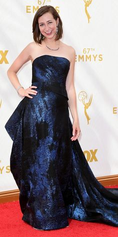 Emmys 2015 Red Carpet Arrivals - Kristen Schaal - from InStyle.com