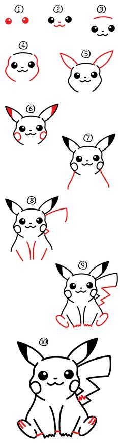 Les 25 meilleures images de dessin pikachu en 2017 ...