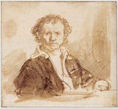 Self-portrait - Rembrandt  - Completion Date: 1637