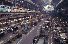 Citroën DS and HY vans assembly line Citroen Ds, Citroen Type H, Manx, Automobile, Citroen Traction, Assembly Line, Van For Sale, Abandoned Cars, Car Car