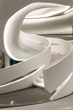 Futuristic Architecture, Sky SOHO by Zaha Hadid Architects, Shanghai, China modern stairs Architecture Design, Concept Architecture, Futuristic Architecture, Stairs Architecture, Futuristic Houses, Retro Futuristic, Chinese Architecture, Zaha Hadid Architektur, Home Modern